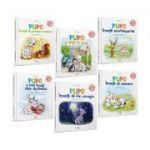 Colectia Pupo invata, 6 carti educative pentru copii - Mirabela Les