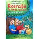 Exercitii de limba romana pentru clasele II-IV - Carmen Iordachescu