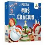 Mos Craciun. Puzzle educativ