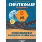 Chestionare 2020 pentru obtinerea permisului auto categoria B. Contine CD - Dan Teodorescu