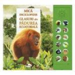 Glasuri din padurea ecuatoriala. Carte cu sunete - Andrea Pinnington