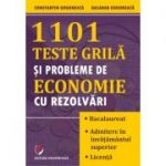 1101 teste grila si probleme de economie cu rezolvari - Constantin Gogoneata
