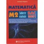Bacalaureat 2021 Matematica M2 - Subiecte rezolvate - Ion Bucur Popescu