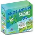 Puzzle pentru podea - Anotimpuri