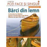 Barci din lemn - 8 tipare in marime naturala Instructiuni si desene pentru constructia a opt tipuri diferite de barci din lemn