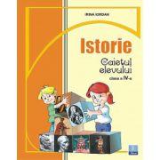Caiet de Istorie - Clasa a IV-a