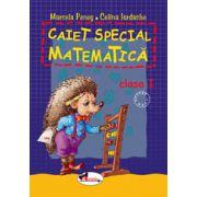 Caiet special - matematica - Clasa I - (Aricel)