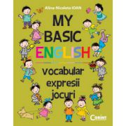 My Basic English - vocabular, expresii, jocuri