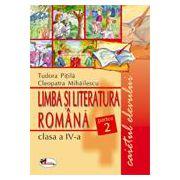 Limba Romana - Clasa a IV-a - Caietul elevului - Partea a II-a