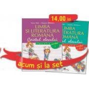 Set caiete Limba Romana pentru clasa a II-a - Semestrele I si II
