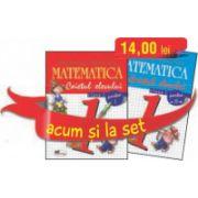 Set caiete matematica pentru clasa I - Semestrele I si II