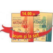 Set caiete Matematica pentru clasa a IV-a - Semestrele I si II