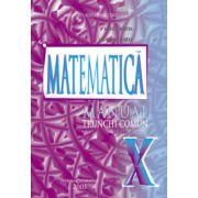 Matematica - Trunchi comun - Manual pentru clasa a X-a