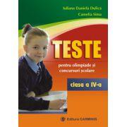 Teste pentru olimpiade si concursuri scolare - Clasa a IV-a