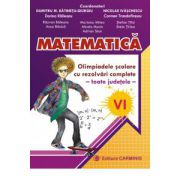 Matematica - Olimpiadele scolare toate judetele, rezolvari complete - Clasa a VI-a