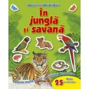 Abtibilduri si jocuri - In jungla si savana