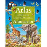Atlas pentru copii despre habitatele animalelor