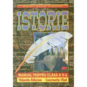 Istorie - Manual pentru clasa a V-a