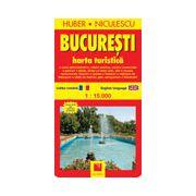 Bucuresti - Harta turistica
