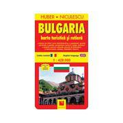 Bulgaria - Harta turistica si rutiera