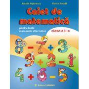Caiet de matematica - Clasa a II-a