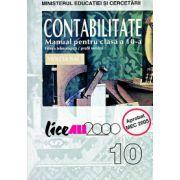 Contabilitate - Manual pentru clasa a X-a