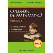Culegere de matematica - Clasa a IV-a