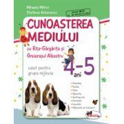Cunoasterea Mediului cu Rita Gargarita si Greierasul Albastru - Caiet - Grupa mijlocie 4-5 ani