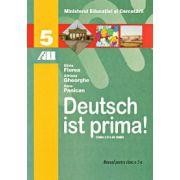 Deutsch ist prima! Manual de germana pentru clasa a V-a - Limba a doua de studiu
