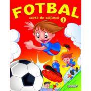 Fotbal - Carte de colorat 1