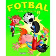 Fotbal - Carte de colorat 3