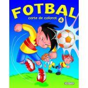 Fotbal - Carte de colorat 4