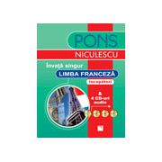 Invata singur limba franceza (incepatori) - 4 CD-uri audio