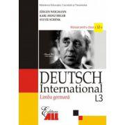 Limba Germana L3 - Deutsch International - Manual pentru clasa a XII-a