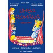 Limba romana - Comunicare - Clasa a IV-a