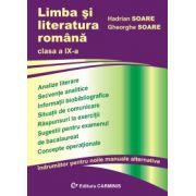 Limba si literatura romana - Clasa a IX-a