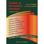 Limba si literatura romana - Clasa a X-a