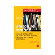 Literatura romana - Manual preparator pentru clasa a VII-a