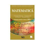 Matematica (M1) - Manual pentru clasa a XII-a