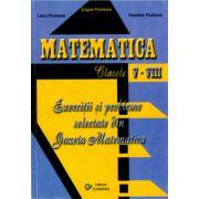 Matematica - Exercitii si probleme selectate din Gazeta Matematica