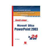 Invata singur Microsoft Office PowerPoint 2003 in 24 de ore