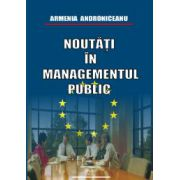 Noutati în managementul public