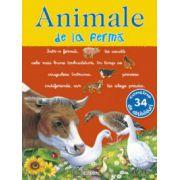 Picto-abtibilduri cu animale - Animale de la ferma