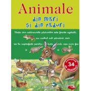 Picto-abtibilduri cu animale - Animale din mari si din paduri