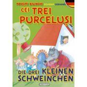 Povesti bilingve (romana-germana) - Cei trei purcelusi