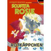 Povesti bilingve (romana-germana) - Scufita Rosie