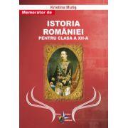 Memorator de Istoria Romaniei pentru clasa a XII-a