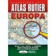 Atlas rutier Europa