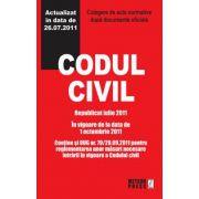 Codul civil - Republicat octombrie 2011
