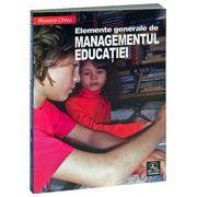 Elemente generale de managementul educaţiei
